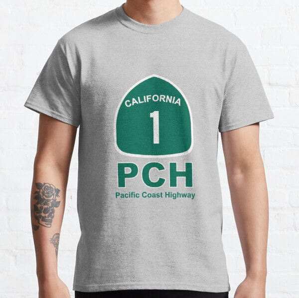 PCH - Pacific Coast Highway No 1 Classic T-Shirt