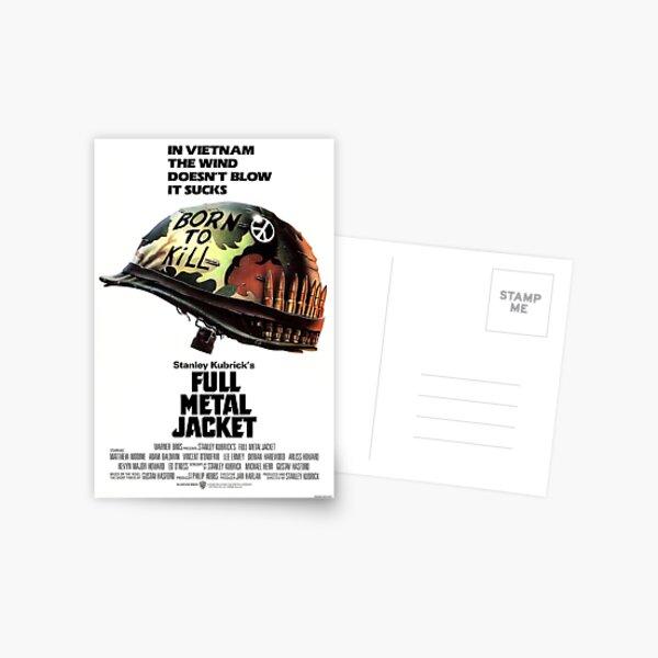 Full Metal Jacket Poster Postcard