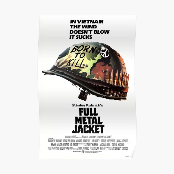 Full Metal Jacket Poster Poster