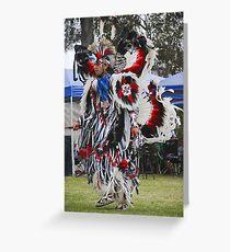 Pow Wow Dancer VII Greeting Card