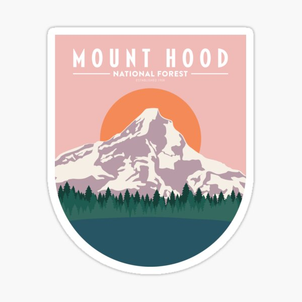 Mount Hood Sticker