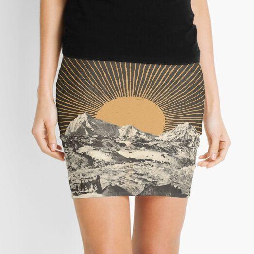 Mountainscape 6 Mini Skirt