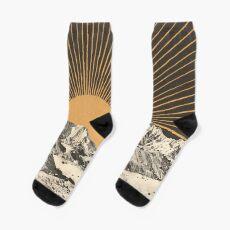 Mountainscape 6 Socks