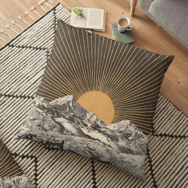 Mountainscape 6 Floor Pillow