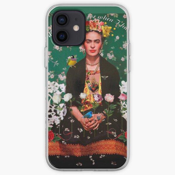 Alas para volar Frida Kahlo Funda blanda para iPhone