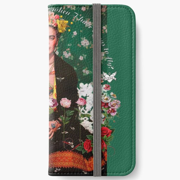 Wings to Fly Frida Kahlo iPhone Wallet