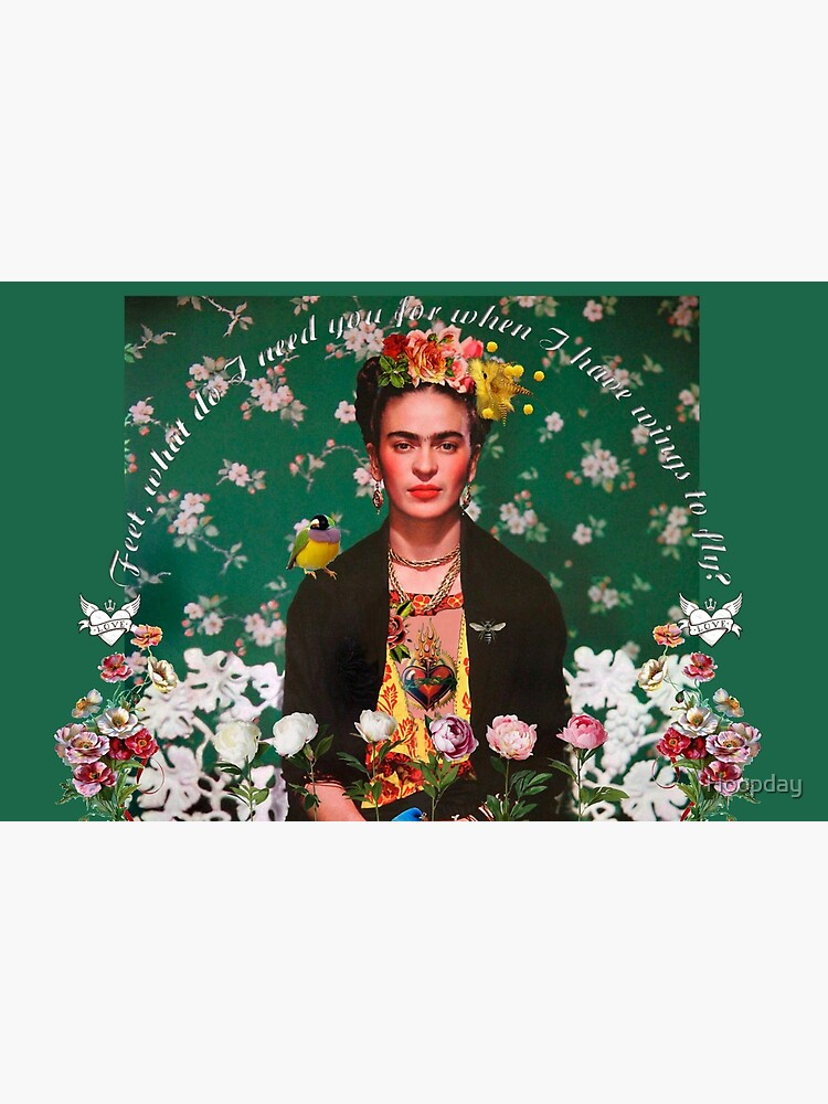 Wings to Fly Frida Kahlo by Hoopday