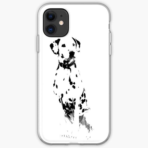 Dalmatian Dog  iPhone Soft Case
