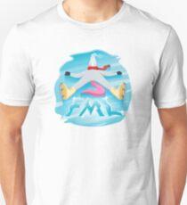 FML Unicorn Emoji JoyPixels Funny Slim Fit T-Shirt