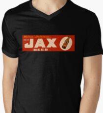 JAX BEER OF NEW ORLEANS Men's V-Neck T-Shirt