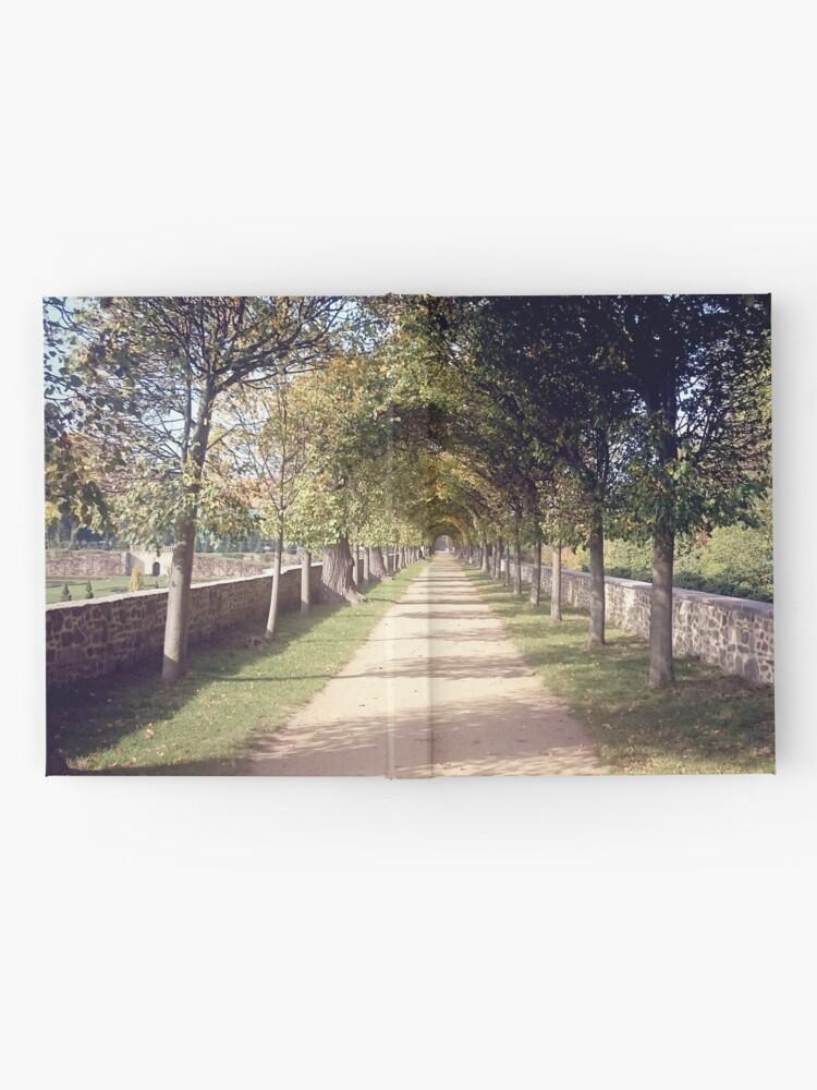 Alternative Ansicht von Park-Allee Notizbuch