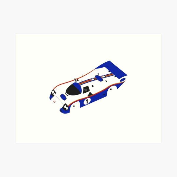 Rothmans Porsche 956 Art Print