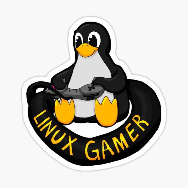 Linux Gamer Sticker