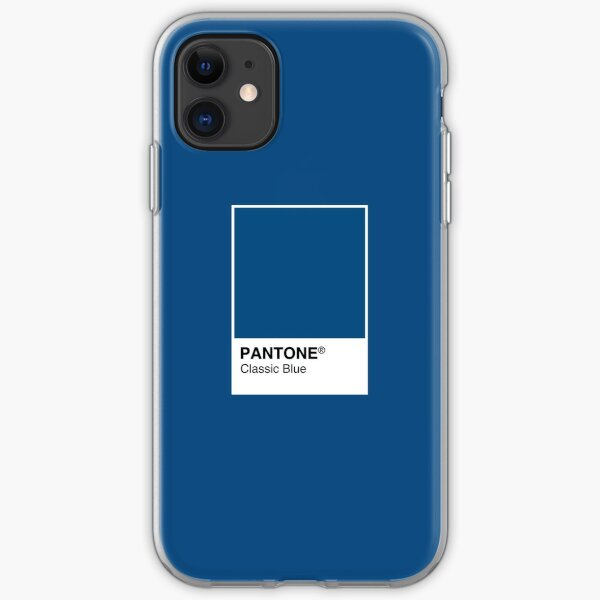Pantone Classic Blue Color of the year 2020 iPhone Soft Case