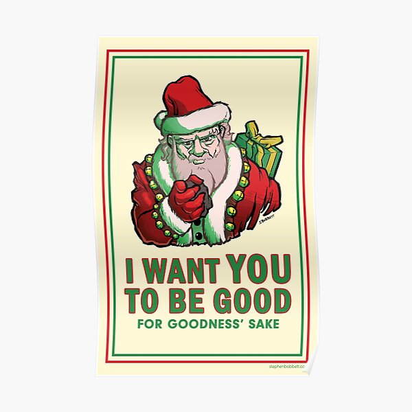 Saint Nick Wants You Poster
