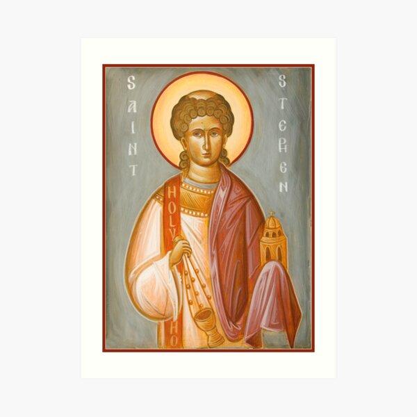 St Stephen II Art Print