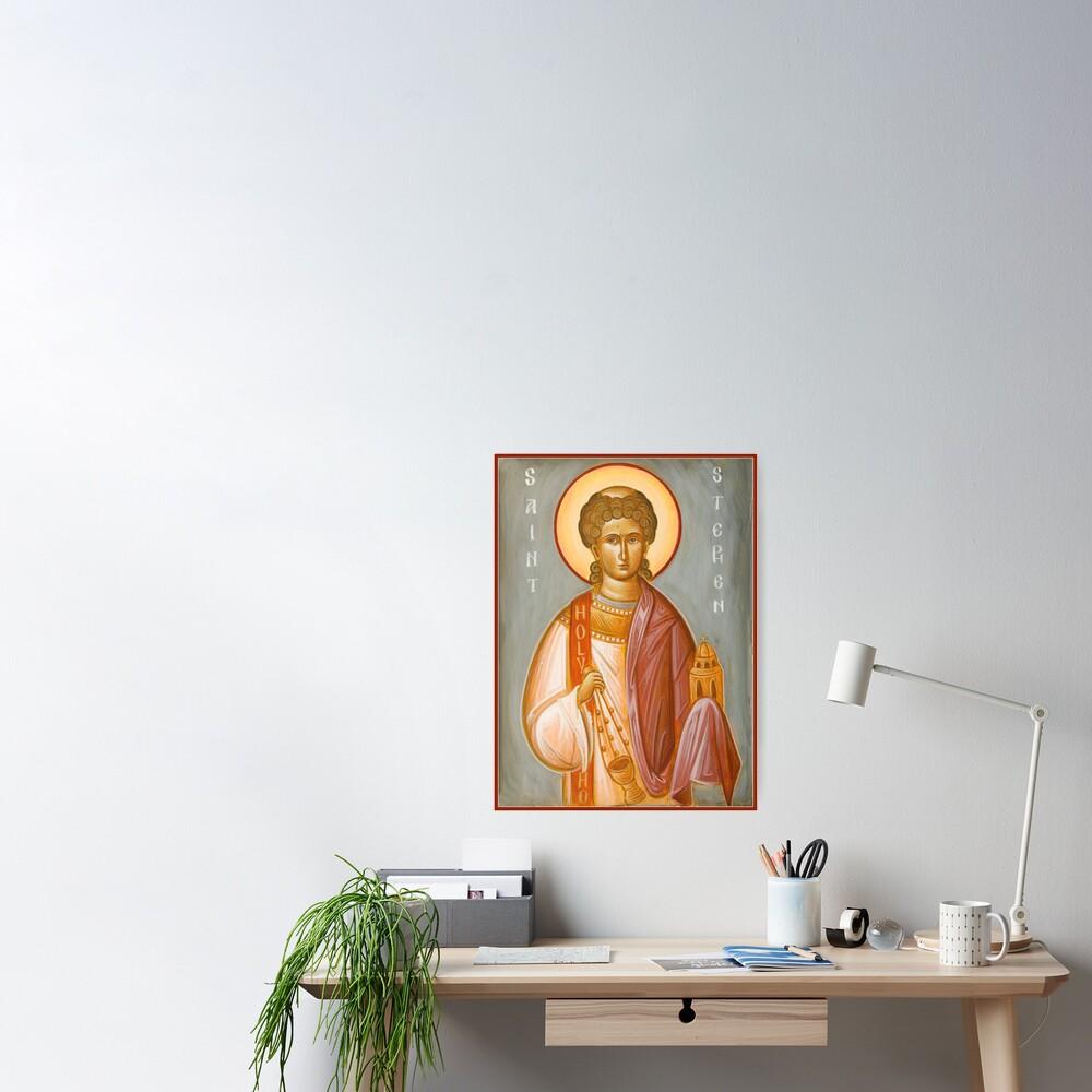 St Stephen II Poster