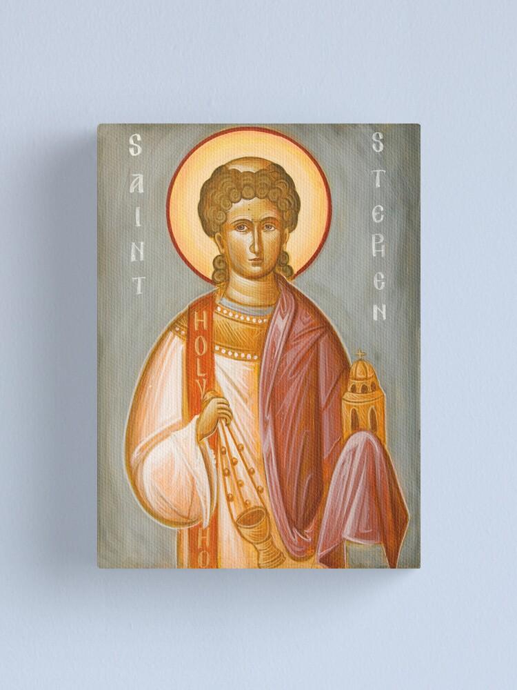 Alternate view of St Stephen II Canvas Print