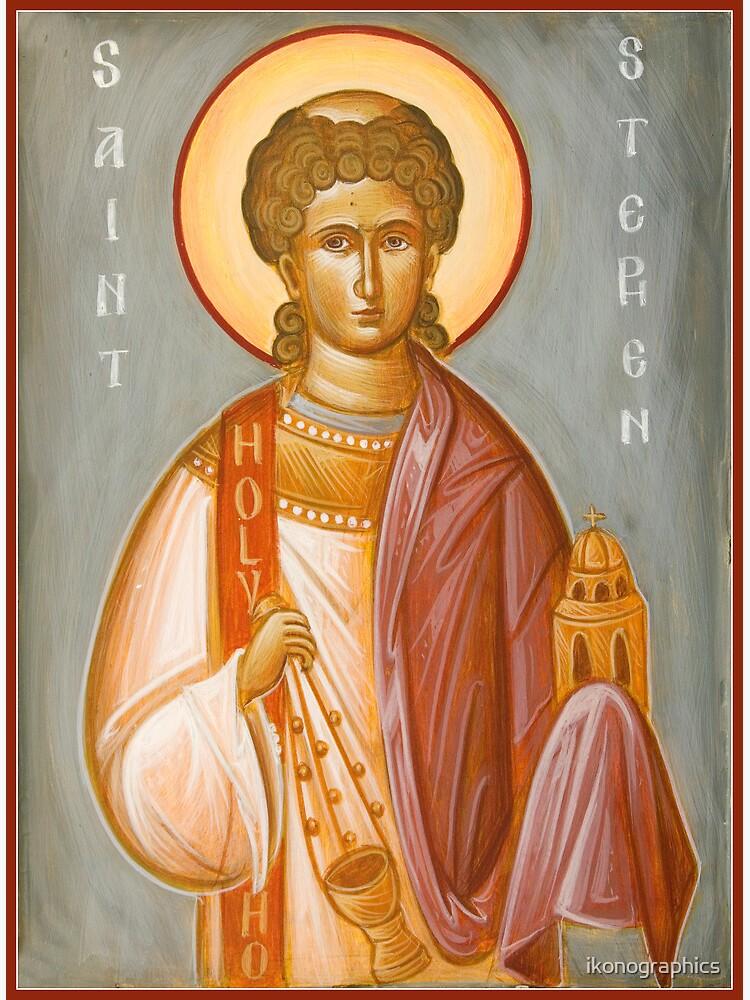 St Stephen II by ikonographics