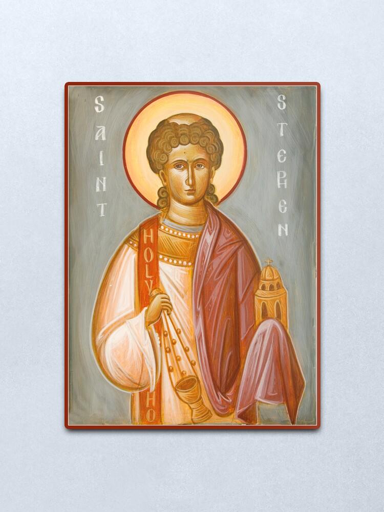 Alternate view of St Stephen II Metal Print