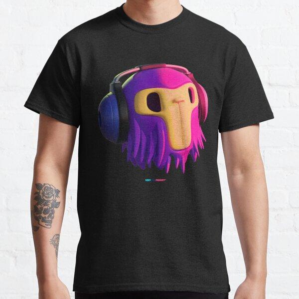 Dj Monkey by Fran Ferriz Camiseta clásica