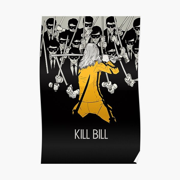 Kill Bill Minimalist Print Poster