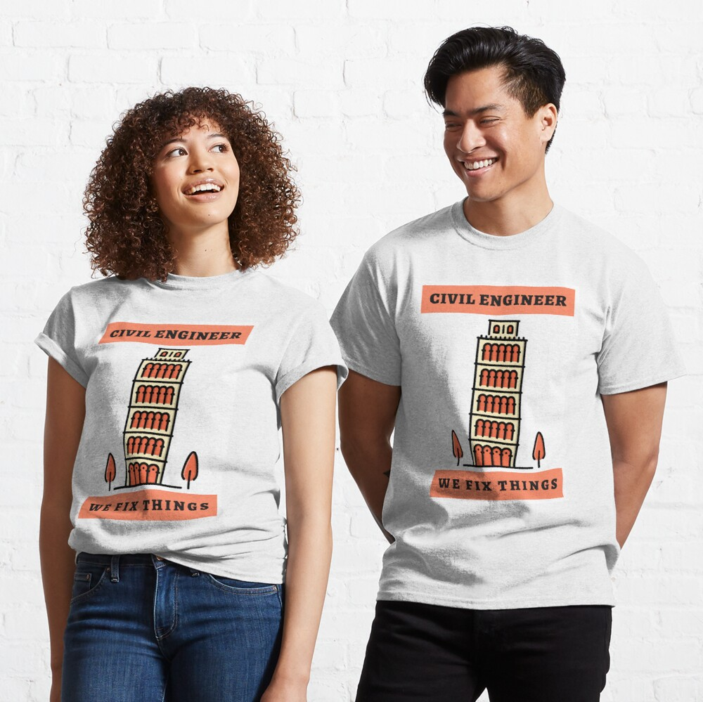 Awesome Civil Engineers Classic T-Shirt