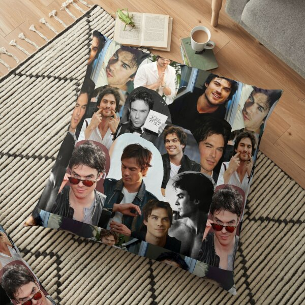 Ian Somerhalder  Floor Pillow