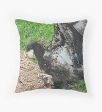 Stellars Sea Eagle Throw Pillow