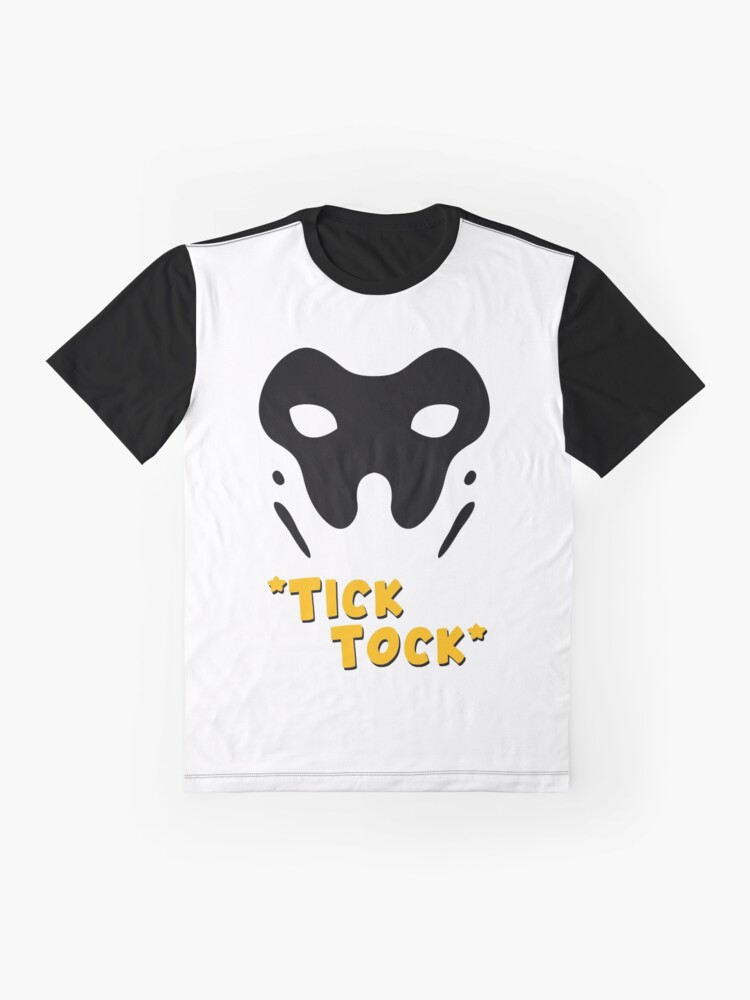 Alternate view of Rorschach Tick Tock Graphic T-Shirt