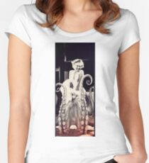Marilyn had a secret. Women's Fitted Scoop T-Shirt