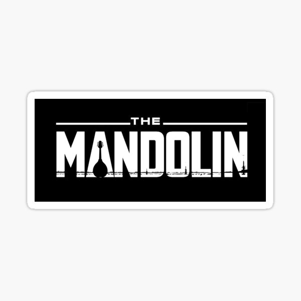 The Mandolinian Sticker