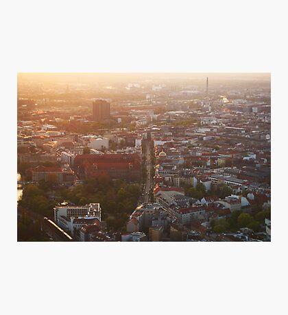 Berlin from Fernsehturm Photographic Print