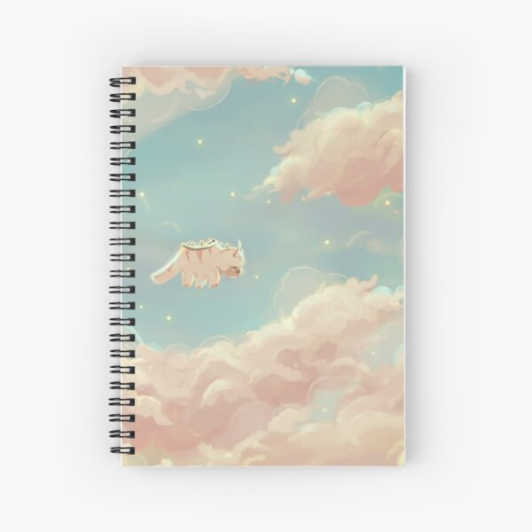dreamy appa poster v.2 Spiral Notebook