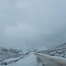 Cloudy snowy day in Scotland. by Teuchter