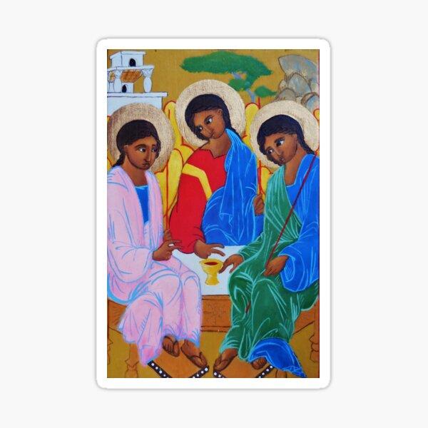 Old Testament Trinity Sticker
