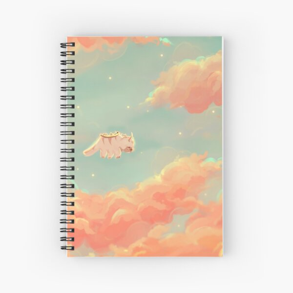 dreamy appa poster v.3 Spiral Notebook
