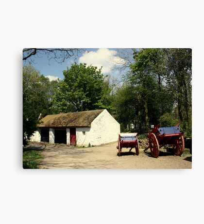Irish Home  Canvas Print