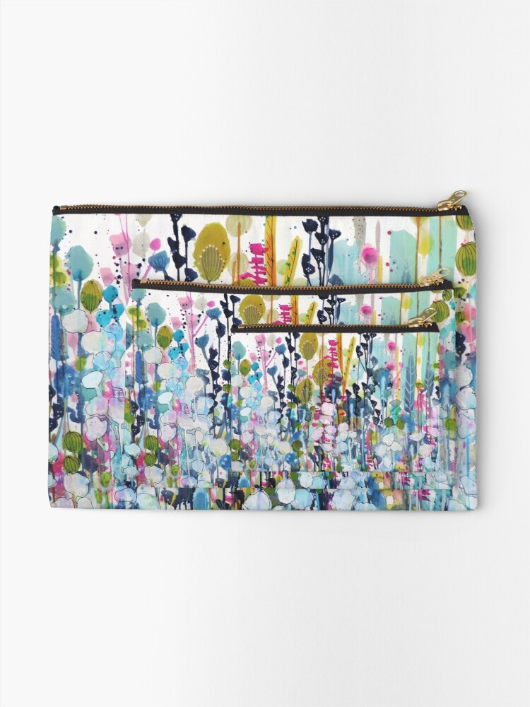 Quot Colorful Side Road Quot Zipper Pouch By Sylviedemers Redbubble