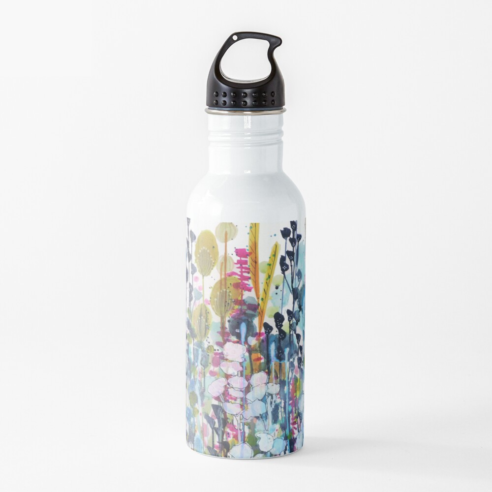 colorful side road Water Bottle
