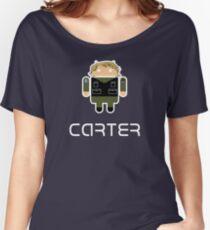 Droidarmy: Sam Carter SG-1 Women's Relaxed Fit T-Shirt