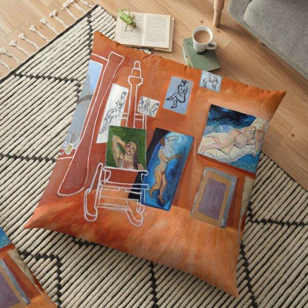 The Brown Studio Floor Pillow