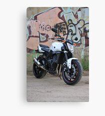urban rider Canvas Print