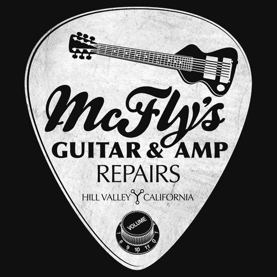 TShirtGifter presents: McFly's Repairs - White
