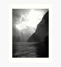 Milford Sound Splendour Art Print