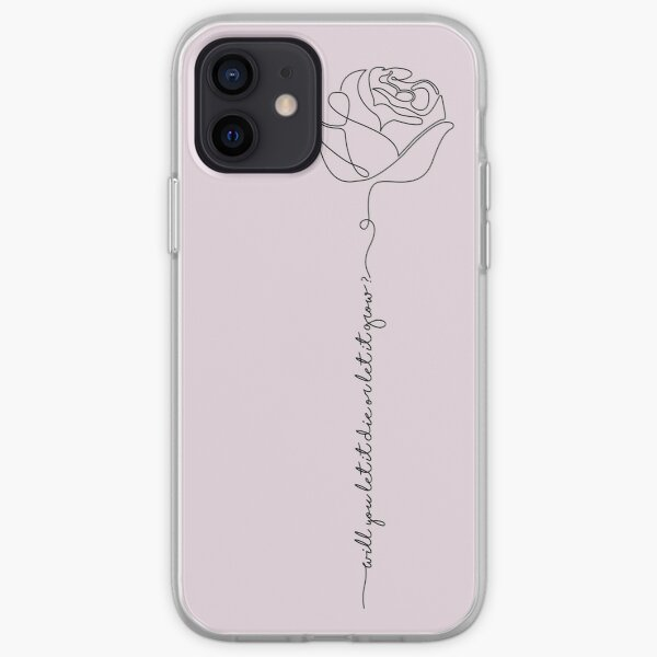 Rosa Coque souple iPhone