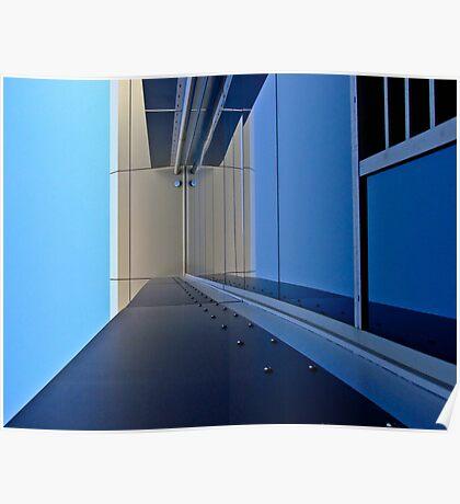 Blue vision - Edith Cowan University Mt Lawley - Perth, Western Australia Poster