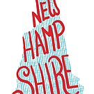 United Shapes of America - New Hampshire by ThePencilClub