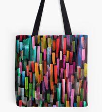 Multicolored watercolor stripes pattern Tote Bag