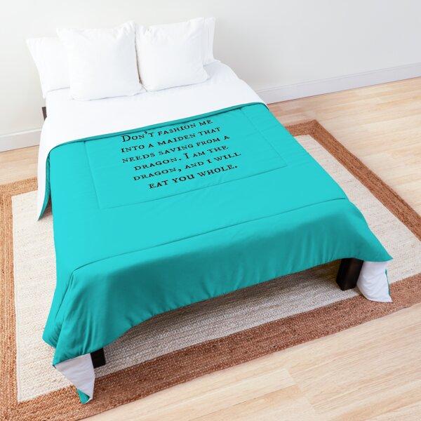 Dragon of Feminism 2 Comforter